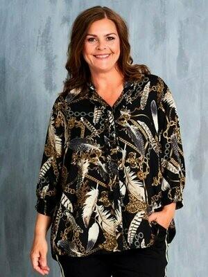 Skjorte med flot print fra Gozzip