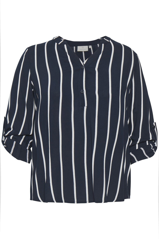 Lang stribet skjorte fra Kaffe Curve!