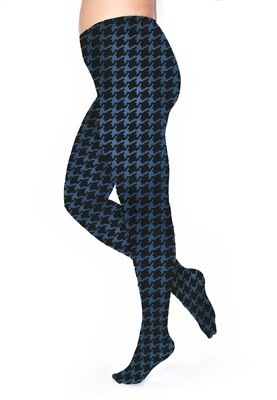Strømpebukser houndtooth fra Pamela Mann.