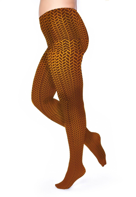 Strømpebukser Herringbone fra Pamela Mann.
