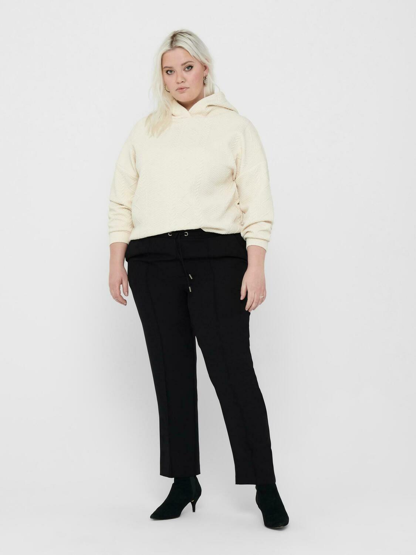 Bløde bukser med lige ben fra Carmakoma!