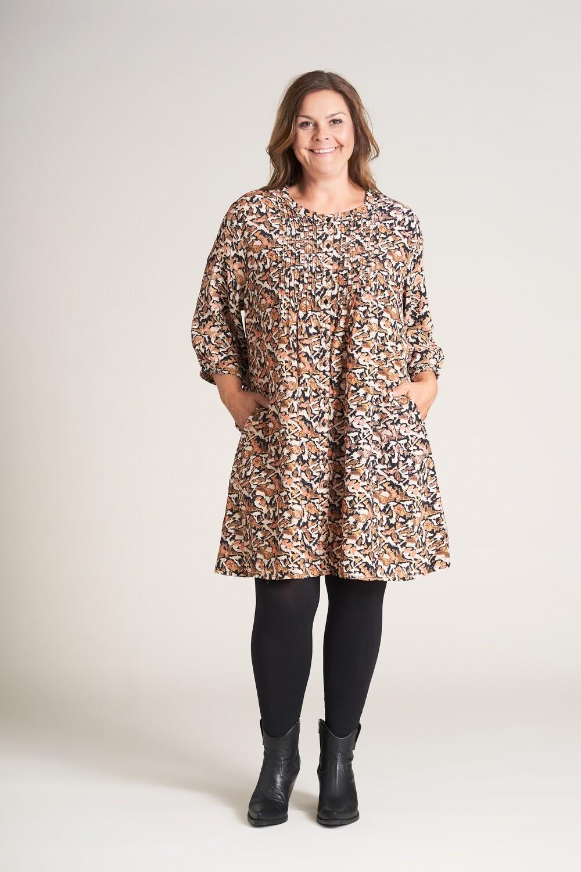 Skjortetunika med smukt print fra Gozzip