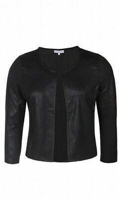Smart jakke i skindlook fra Zhenzi