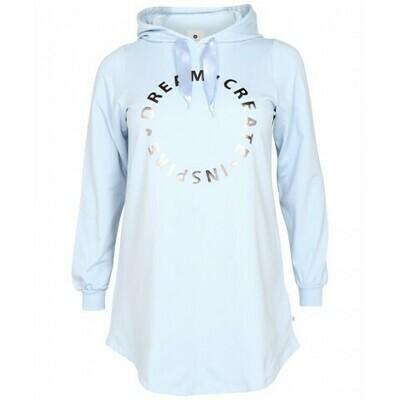 Lang sweatshirt med print fra Zhenzi!