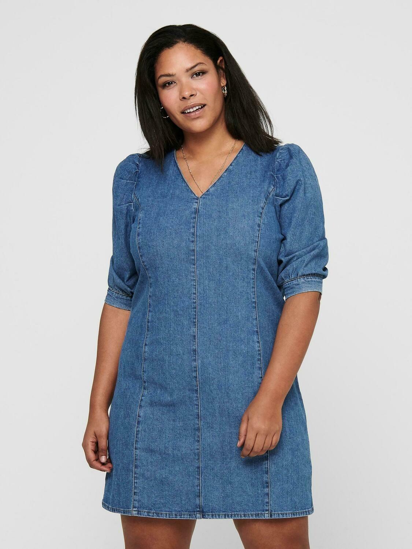 Smart denim kjole/tunika fra Carmakoma
