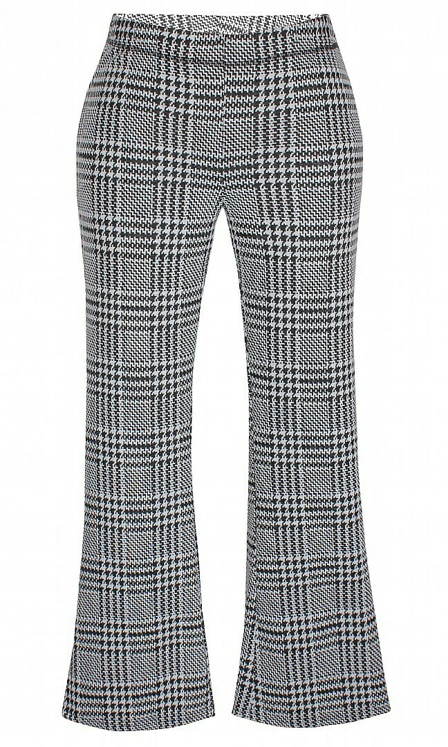 Flared pants med tern fra Zhenzi.