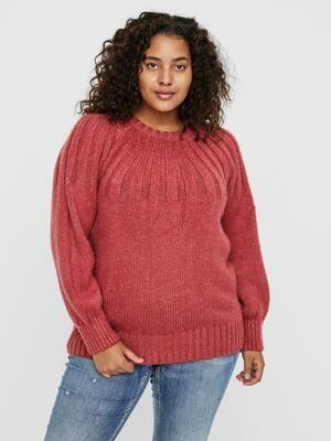 Blød sweater fra Vero Moda Curve