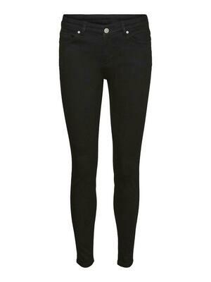 Jeans med mellemhøj talje og smalle ben fra Vero Moda.