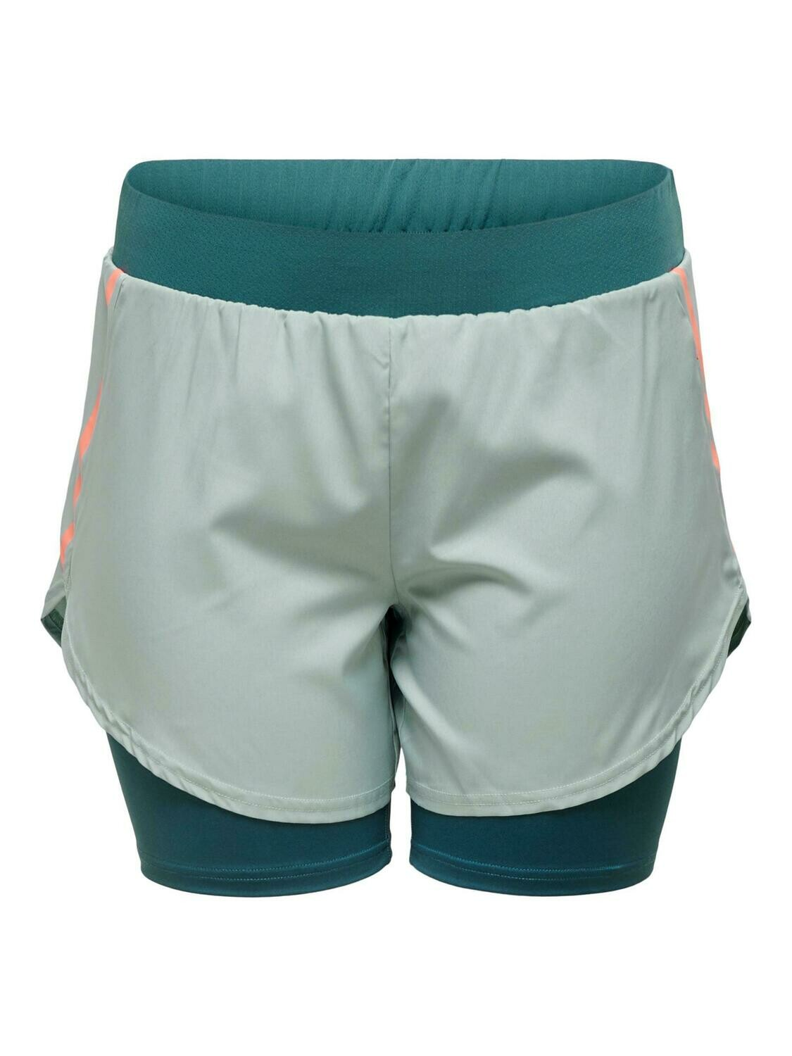 Trænings shorts fra Only Play Curve.