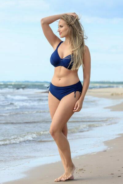 Blå bikini-top fra Plaisir