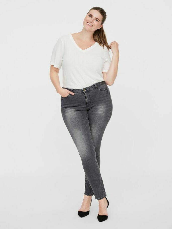 Fede grå jeans fra Junarose