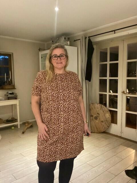 Mønstret tunika fra Carmakoma