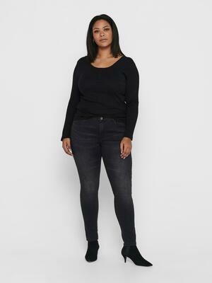 Grå jeans fra Carmakoma