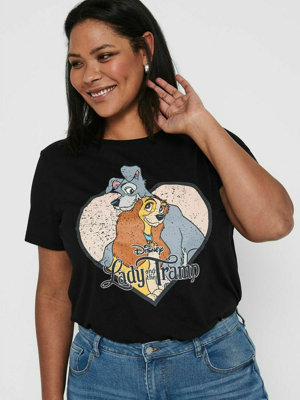 Sød T-shirt med print fra Carmakoma