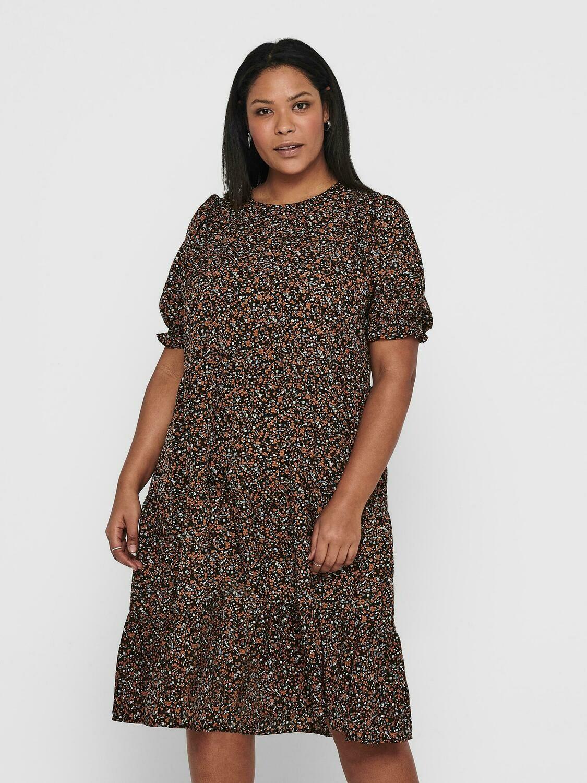 Sødeste kjole med print fra Carmakoma