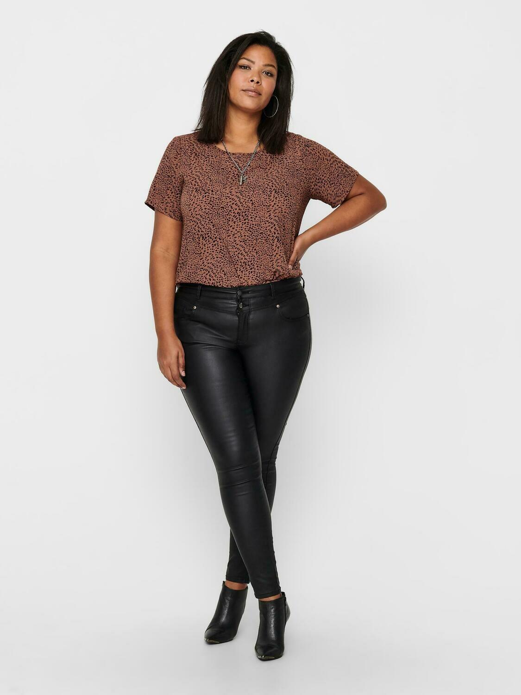 Fede coated bukser fra Carmakoma