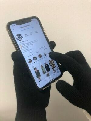 Touch-screen handsker - pk. med 2 par!