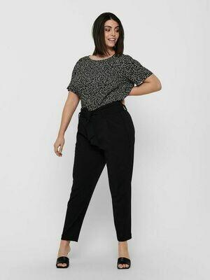 Højtaljede bukser med bindebælte fra Carmakoma.