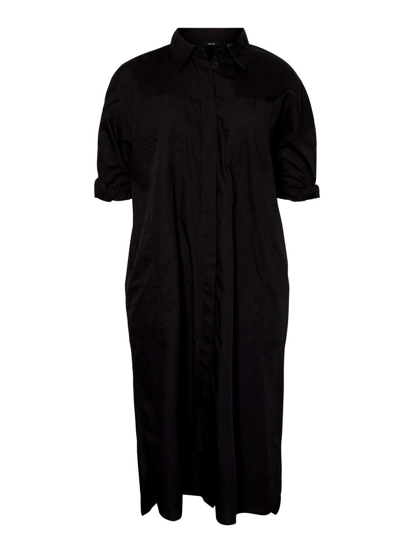 Lang skjortekjole fra Vero Moda Curve