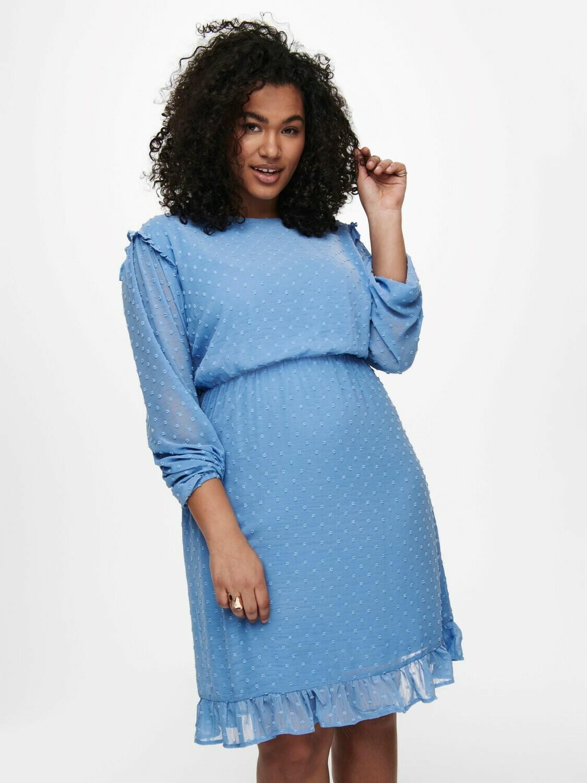 Sød himmelblå kjole fra Carmakoma!