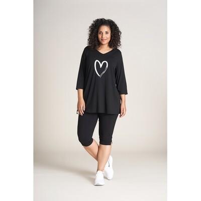 Sød tunic med hjerte fra Studio