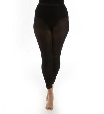 50 denier Footless tights med super-stretch fra Pamela Mann