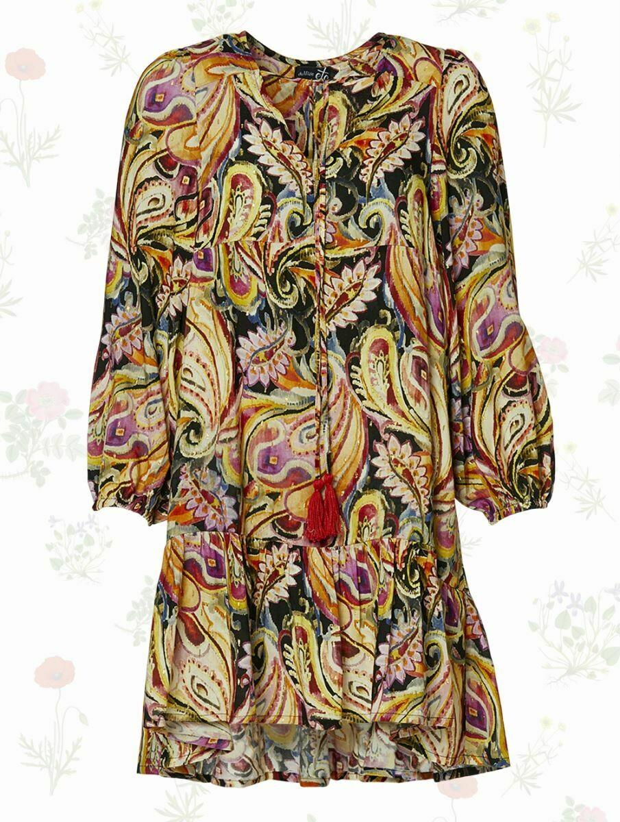Begonias Golden Summer tunika kjole fra du Milde etc!