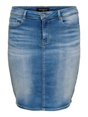 Lækker denim-nederdel fra Carmakoma