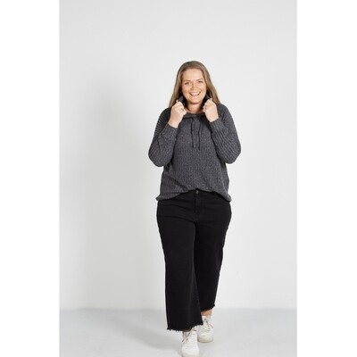 Fed ribbed sweatshirt fra Zoey