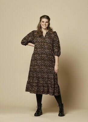 Leopard kjole fra Zhenzi
