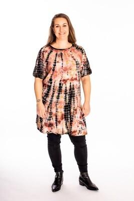 Flot mønstret kjole fra Cassiopeia