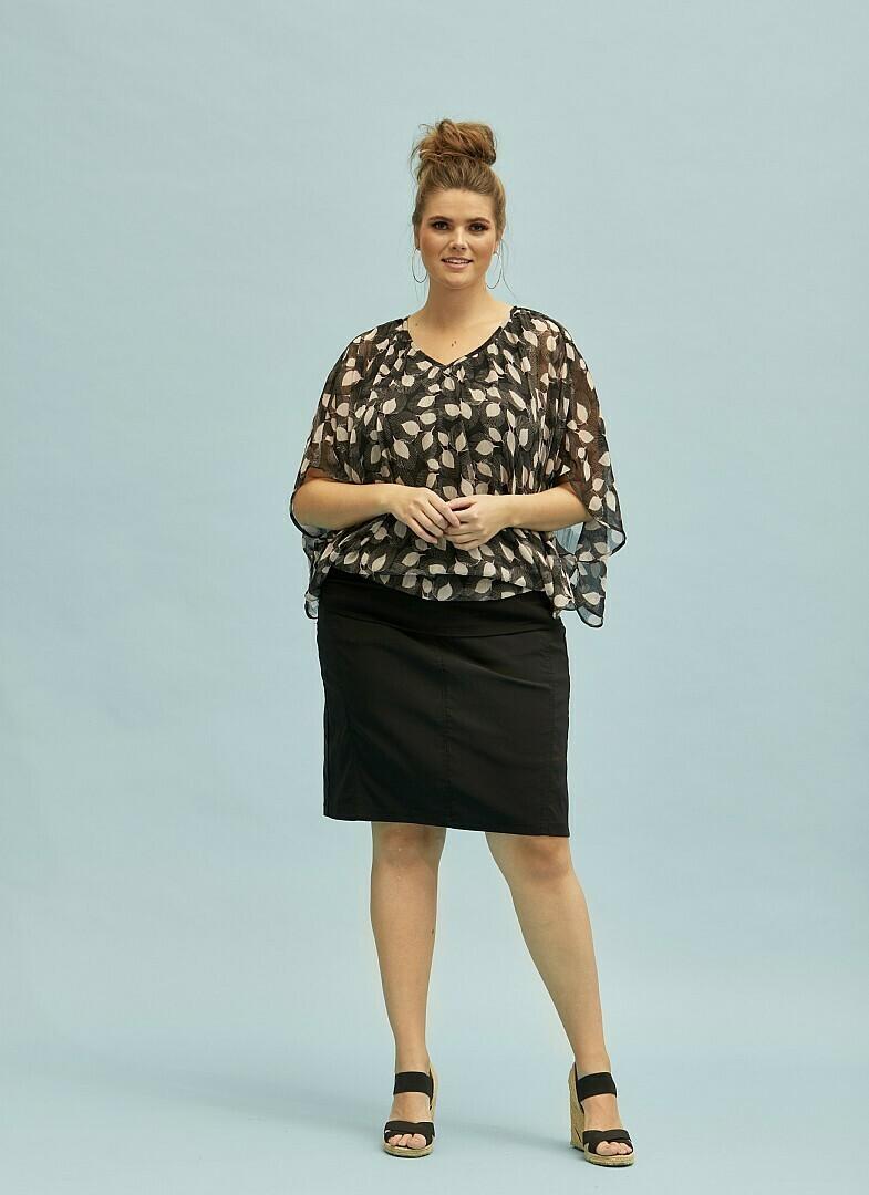 Flot transparent bluse fra Zhenzi