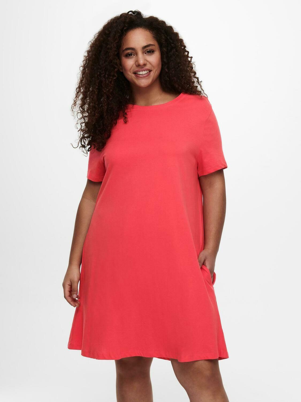 Skøn jersey kjole fra Carmakoma