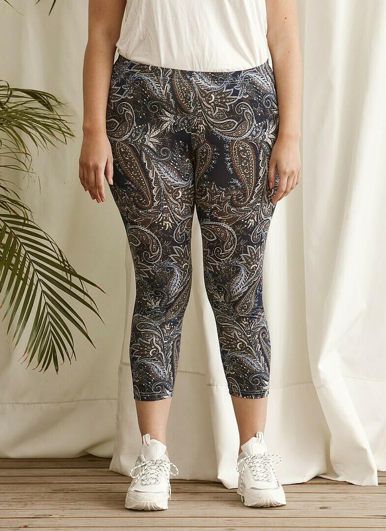 3/4 leggings med mønster fra Zhenzi