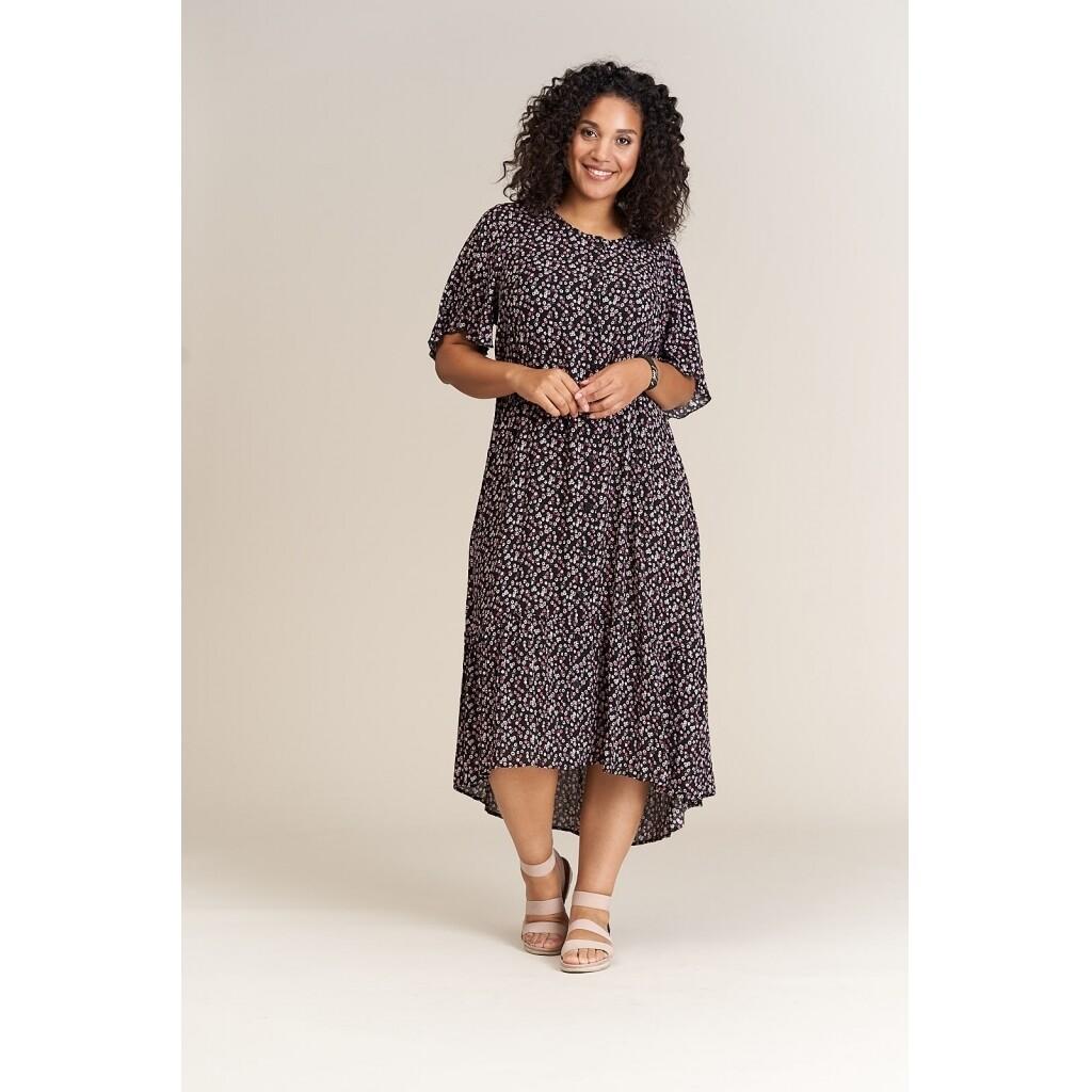 Løstsiddende maxi-kjole fra Studio