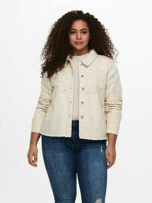 Sød jakke med blonde detaljer fra Carmakoma