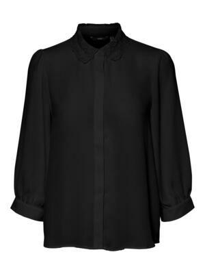 Smuk skjorte med flot krave fra Vero Moda Curve