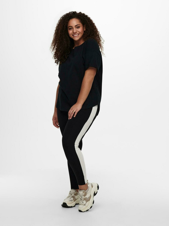 Cool leggins med stribe fra Carmakoma