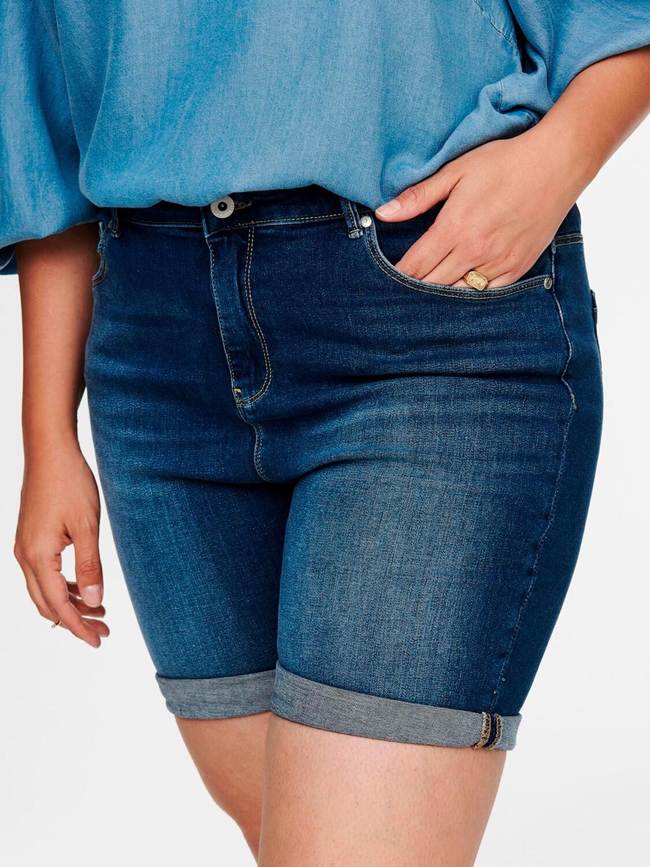 Denim-shorts fra Carmakoma