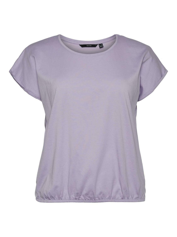 Flot t-shirt fra Vero Moda Curve