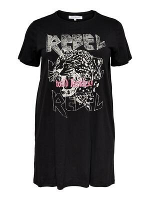 Cool lang T-shirt fra Carmakoma