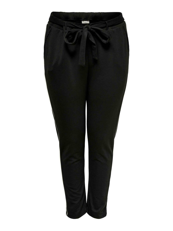 Jersey-pants med binde-detalje fra Carmakoma!
