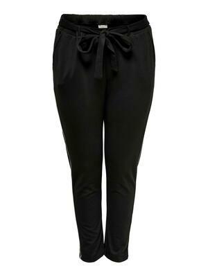 Jersey-pants med binde-detalje fra Carmakoma