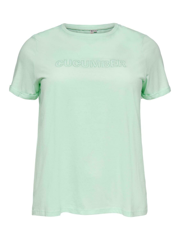 Cool t-shirt fra Carmakoma.