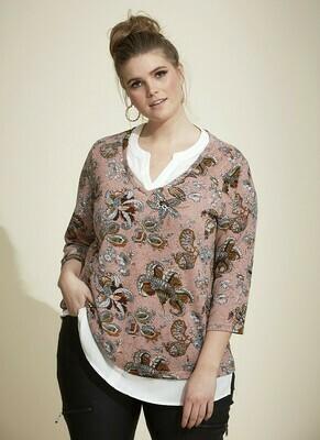 Pullover med skjortelook fra Zhenzi