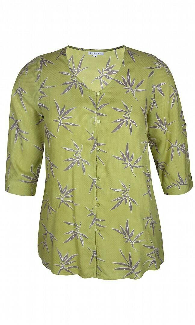Let skjorte/bluse med 3/4 ærmer fra Zhenzi
