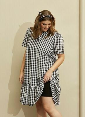 Ternet kjole i ren bomuld fra Zhenzi!