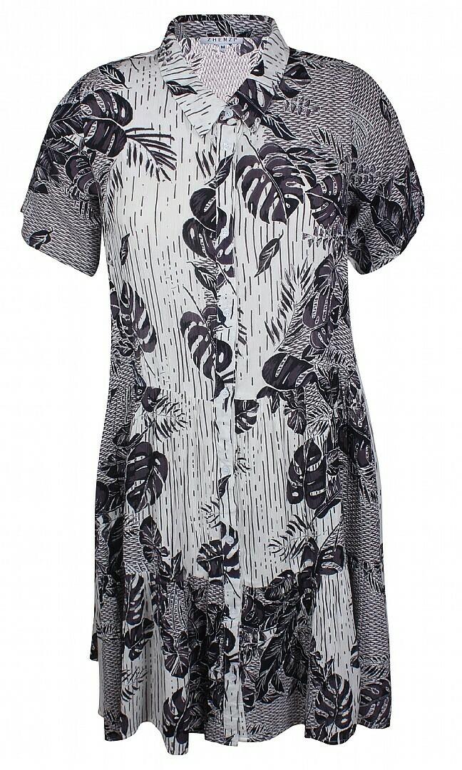 Fin mønstret kjole fra Zhenzi