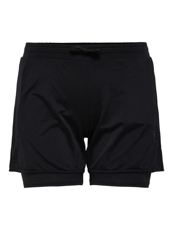 Løstsiddende trænings-shorts fra Only Play Curvy.
