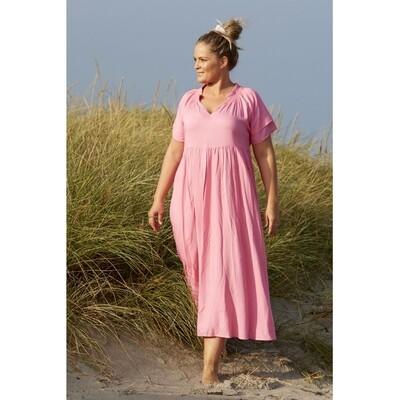 Smuk pink viscose-kjole fra Zoey!